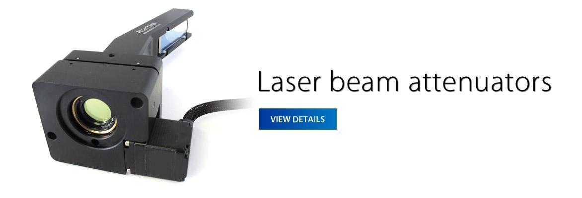 Laser beam attenuators