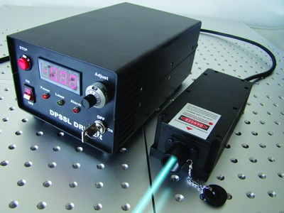 DPSS CW Blue Laser, 473nm