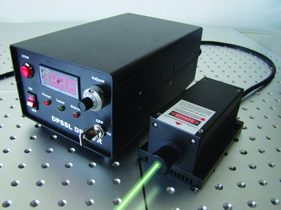 DPSS CW GREEN Laser, 532nm
